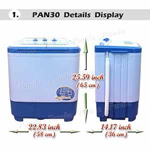 PAN30 Washer
