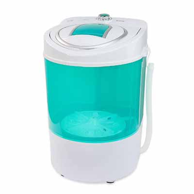 XtremepowerUS Electric Small Mini Portable Compact Washer Washing Machine (45L Washer)