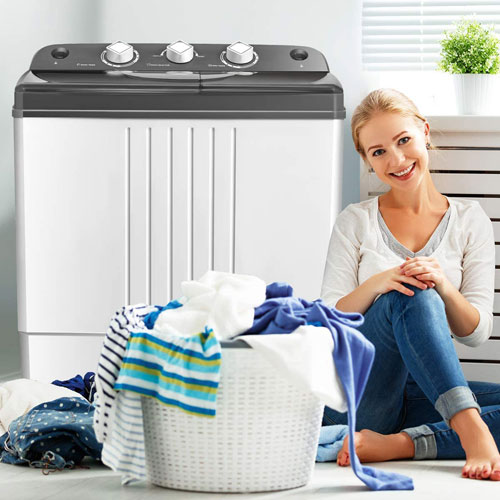 Costway mini portable washing machine