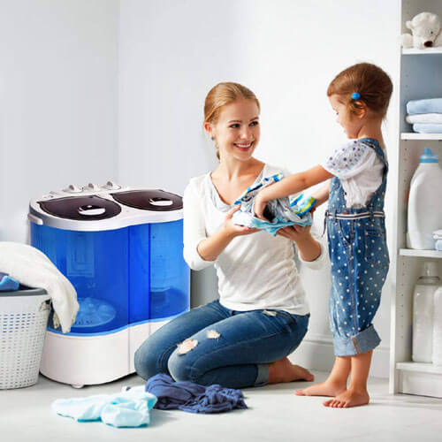 5 Best Non-Computerized Washing Machines Review with ...