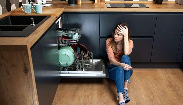 Frigidaire dishwasher start button not working
