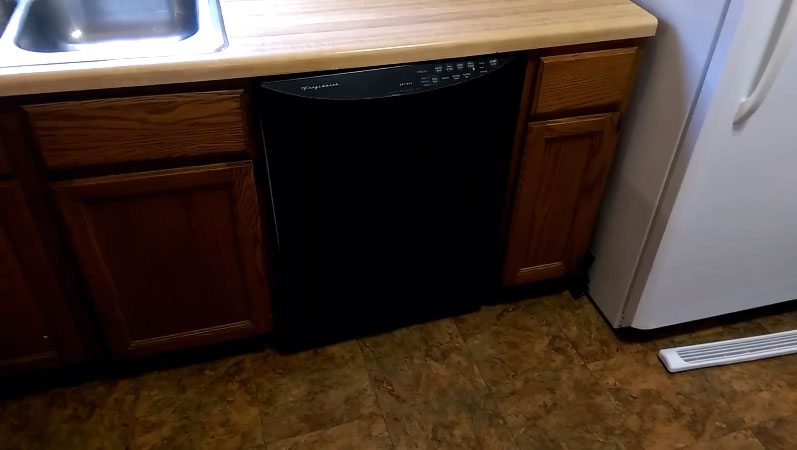 Frigidaire dishwasher flashing lights or blinking