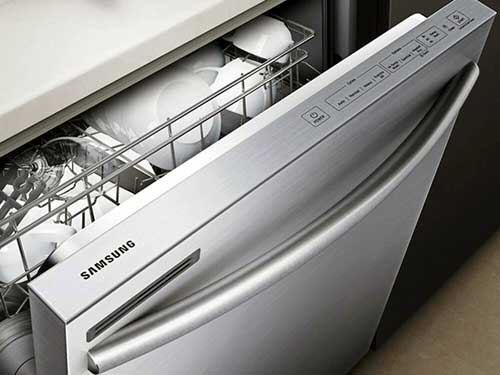 Samsung dishwasher blinking lights